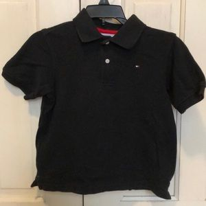 Tommy Hilfiger Shirts & Tops - ⛵️ TOMMY HILFIGER BLACK POLO